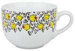 Jumbotasse Smiley - In Love 600 ml