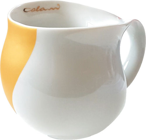 Colani dekorierter Kaffeebecher Arrow gold