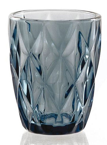 Vintage Wasserglas BLUE DIAMOND TUMBLER 270 ml