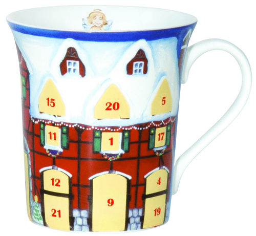 Adventsrubbelbecher X-Mas Home 410 ml