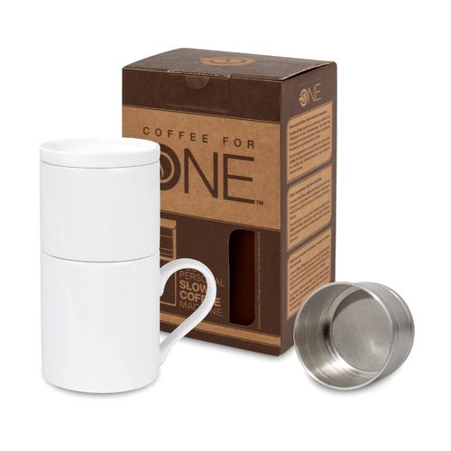 Coffee for One - Neutral Weiß 370 ml