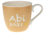 Tasse Abi 2021 Apriko 425 ml mit Namen in GK